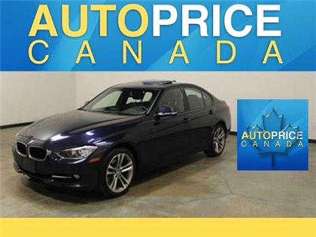 2013 BMW 3 SERIES 328 SPORT PKG NAVIGATION XENON in Mississauga, Ontario