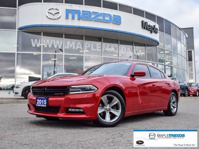 2015 DODGE Charger SXT, 3.6, 8 speed auto, loaded!! in Vaughan, Ontario