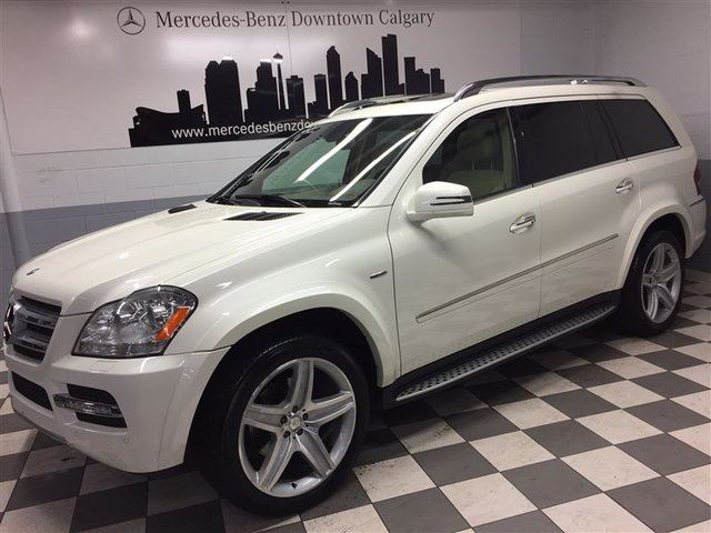 2012 MERCEDES-BENZ GL-CLASS GL350 BlueTec Avantgarde Edition in Calgary, Alberta