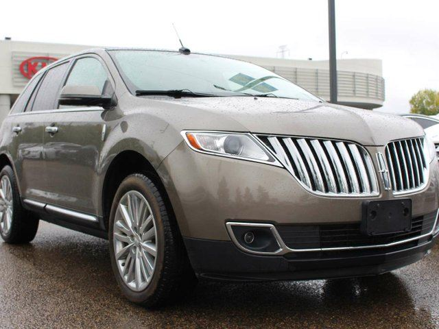 2012 LINCOLN MKX AWD, HEATED FRONT / REAR SEATS, HEATED WHEEL, COOLED SEATS, DUAL SUNROOF, NAVI, BACKUP CAM, USB/AUX/SD in Edmonton, Alberta