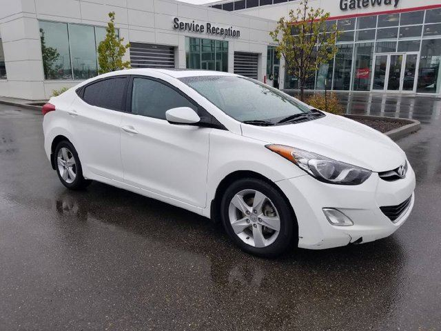 2013 HYUNDAI ELANTRA 4DR SDN 6SPD MAN Heated Front and Rear Seats, Moonroof & Bluetooth in Edmonton, Alberta