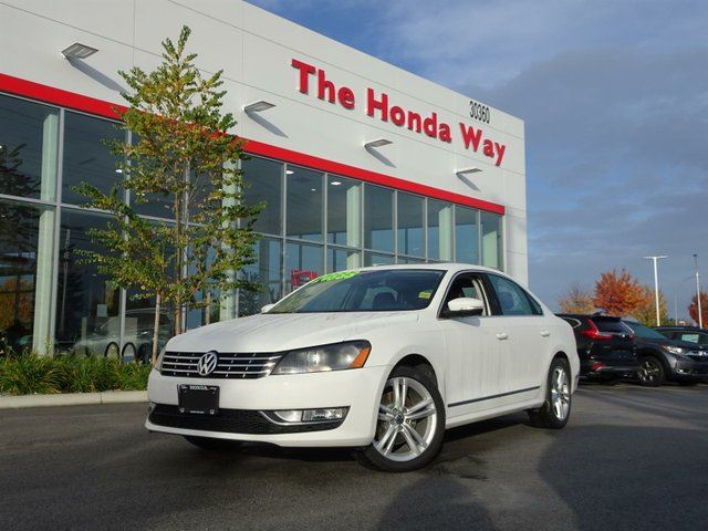 2013 VOLKSWAGEN PASSAT TDI in Abbotsford, British Columbia
