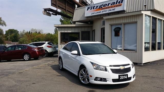2014 CHEVROLET CRUZE RS - LEATHER! NAV! BACK-UP CAM! in Kitchener, Ontario