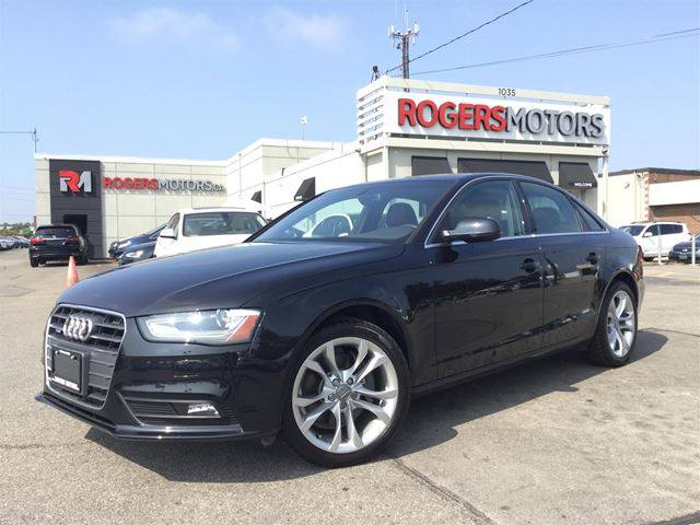 2014 AUDI A4 2.0TFSI - NAVI - LEATHER - SUNROOF in Oakville, Ontario
