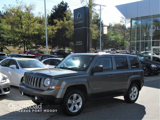 2012 Jeep Patriot  North Edition - Sunroof - Heated Front Seats in Port Moody, British Columbia