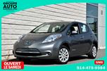 2015 Nissan Leaf *AUTOM*A/C*CAMERA*RECHARGE RAPIDE*EN INVENTAIRE* in Longueuil, Quebec