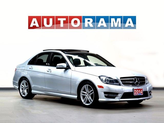 2014 MERCEDES-BENZ C-CLASS LEATHER SUNROOF 4WD in North York, Ontario