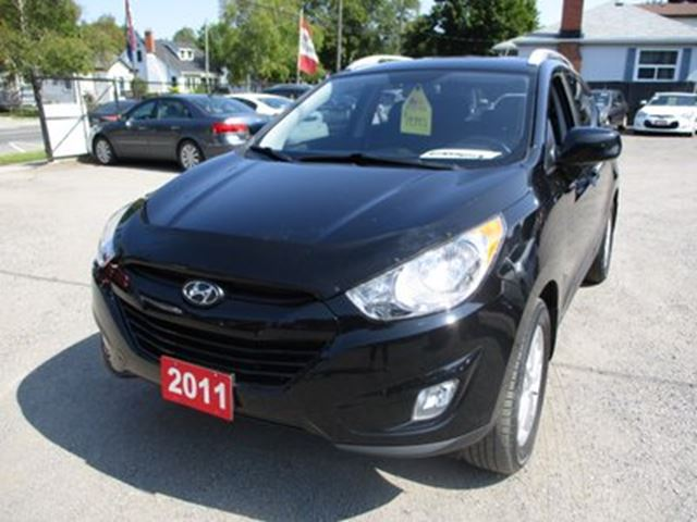 2011 Hyundai Tucson POWER EQUIPPED GLS MODEL 5 PASSENGER 2.4L - 4 C in Bradford, Ontario