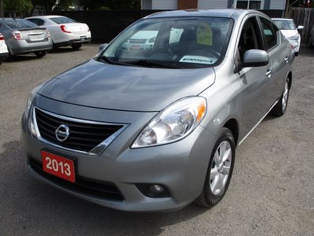 2013 Nissan Versa POWER EQUIPPED SL MODEL 1.6L - 4 CYL.. CLOTH IN in Bradford, Ontario