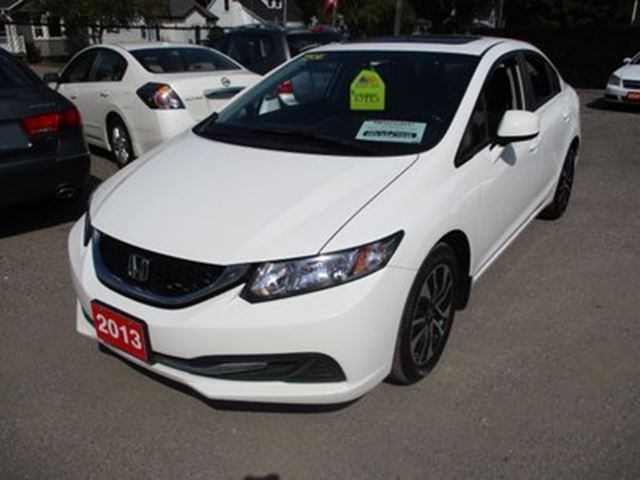 2013 Honda Civic SPORTY LX MODEL 5 PASSENGER 1.8L - 4 CYL.. FWD. in Bradford, Ontario