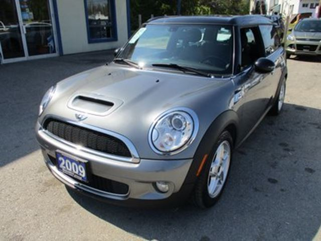 2009 MINI Cooper 'FUN TO DRIVE' S-TYPE 4 PASSENGER 1.6L - TURBO. in Bradford, Ontario