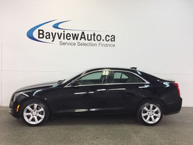 2015 CADILLAC ATS - AWD! TURBO! HTD LTHR! BOSE! DUAL CLIMATE! in Belleville, Ontario