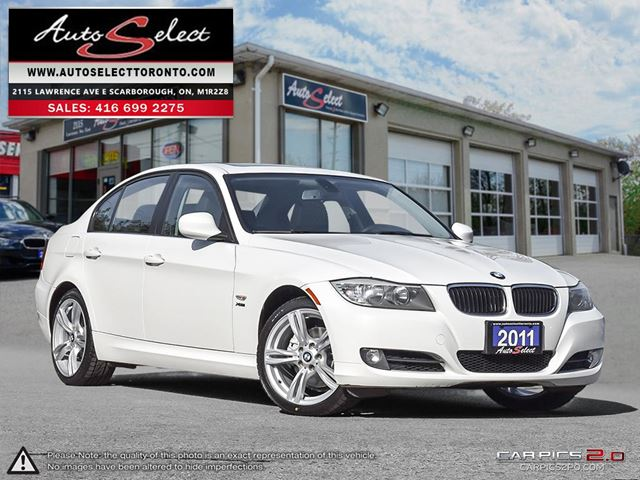 2011 BMW 3 SERIES 328 i xDrive AWD ONLY 108K! *18 INCH SPORT WHEELS* CLN CARPROOF in Scarborough, Ontario