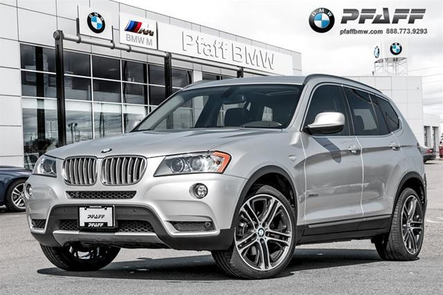 2012 BMW X3 xDrive35i in Mississauga, Ontario