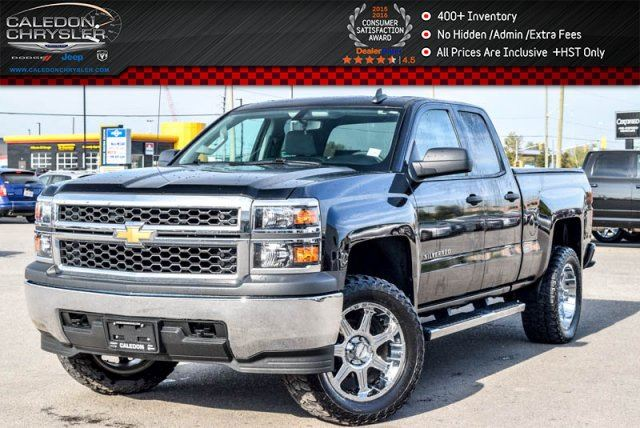 2015 Chevrolet Silverado 1500 Work Truck 4x4 Backup Cam Bluetooth Keyless Entry 17Alloy Rims in Bolton, Ontario