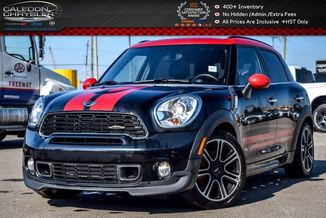 2013 MINI COOPER Countryman John Cooper Works ALL4 Navi Dual Pane Sunroof Bluetooth 18Alloy Rims in Bolton, Ontario