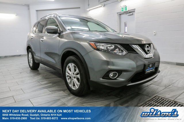 new 2016 nissan rogue sv awd panoramic sunroof rear camera heated seats power driver 39 s. Black Bedroom Furniture Sets. Home Design Ideas