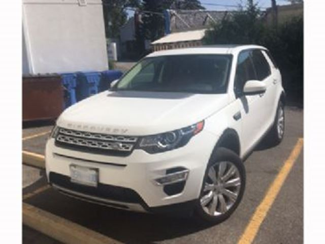2016 LAND ROVER DISCOVERY HSE,  4WD in Mississauga, Ontario