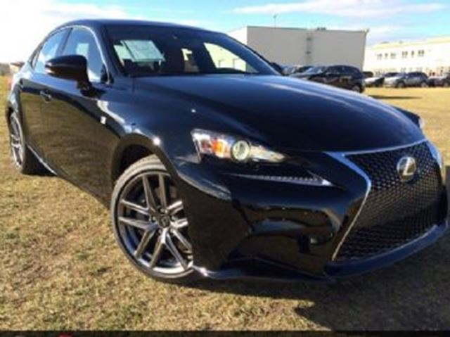 2017 LEXUS IS 300 AWD w/F-Sport Series 2 Package in Mississauga, Ontario