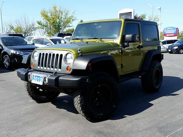 2010 JEEP WRANGLER MOUNTAIN EDITION-2 TOPS-AUTOMATIC in Belleville, Ontario
