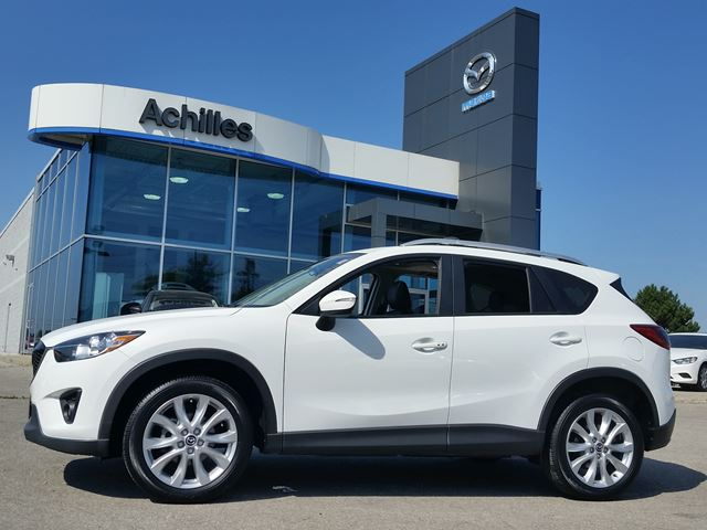 2015 MAZDA CX-5 GT-AWD, Leather, Moonroof in Milton, Ontario