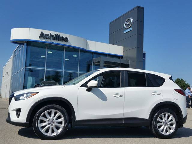 2013 MAZDA CX-5 GT-AWD, Moonroof, Leather in Milton, Ontario