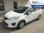 2013 Ford Fiesta SE *Very Low Kms/ Local Trade* in Winnipeg, Manitoba