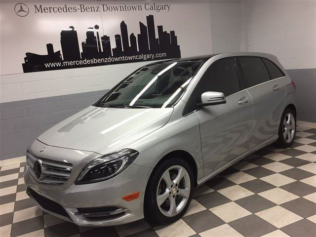 2014 MERCEDES-BENZ B-CLASS B250 Nav Bi-Xenon Driving Assist Camera+ in Calgary, Alberta