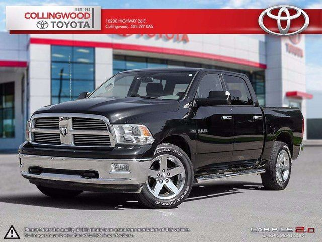 2010 Dodge RAM 1500 4X4 1500 5.7 L BACKUP CAMERA AND ALLOYS in Collingwood, Ontario