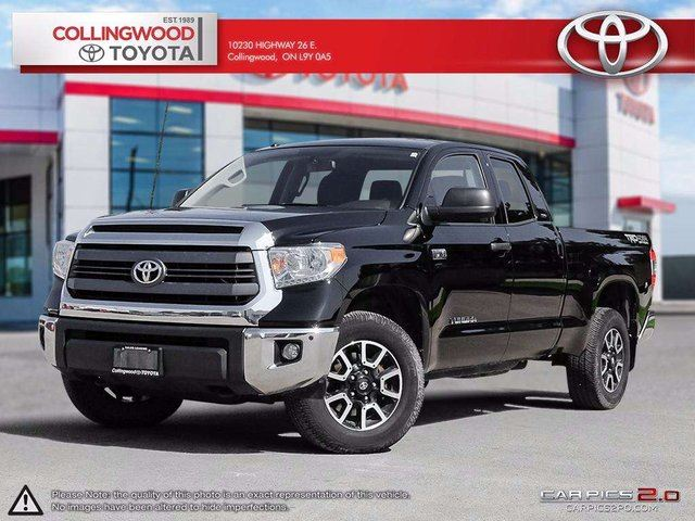 2015 Toyota Tundra TRD 5.7L V8 4x4 DOUBLE CAB SOLD AND SERVICED HERE in Collingwood, Ontario