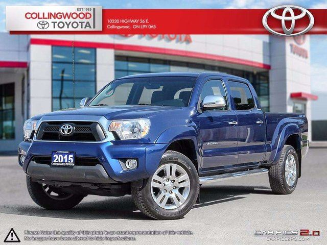 2015 Toyota Tacoma 4x4 DOUBLE CAB LIMITED V6 NAVIGATION in Collingwood, Ontario
