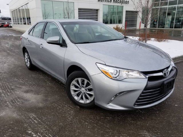 2016 TOYOTA CAMRY LE Backup Cam, Bluetooth, Power Windows, Door Locks and Mirrors in Edmonton, Alberta