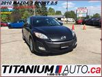 2010 Mazda MAZDA3 GS+Sport+2.5L+Sunroof+Hatch Back+BlueTooth+Fogs+++ in London, Ontario