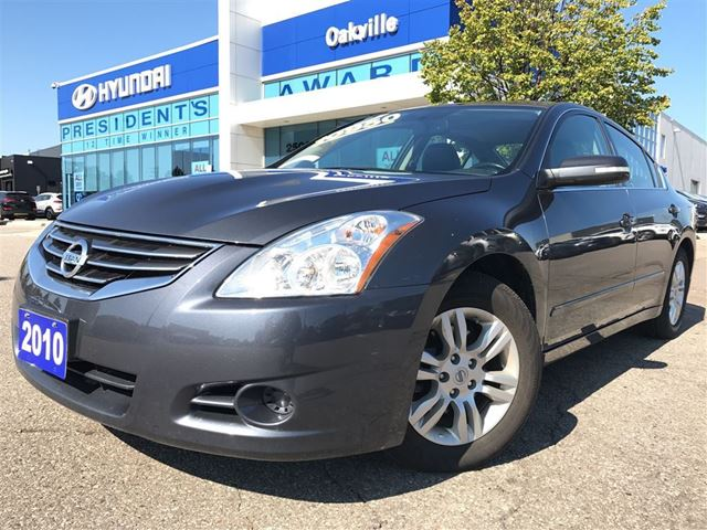 2010 NISSAN ALTIMA 2.5 SL  LEATHER  ROOF  HEATED SEAT  ONE OWNER in Oakville, Ontario