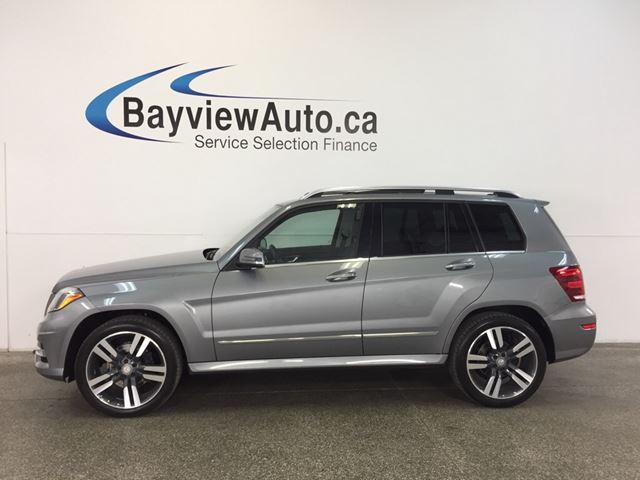2014 MERCEDES-BENZ GLK250 - BLUETEC|AWD|PANOROOF|HITCH|HTD LTHR|BSA|CRUISE! in Belleville, Ontario