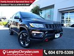 2017 Jeep Compass Trailhawk *ACCIDENT FREE*ONE OWNER*LOCAL BC CAR* in Surrey, British Columbia