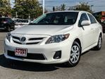 2013 Toyota Corolla   CE ENHANCED+LOW KMS! in Cobourg, Ontario