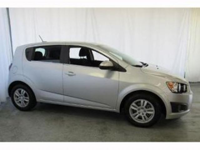 2015 CHEVROLET SONIC XS WEAR + WINTER TIRES in Mississauga, Ontario