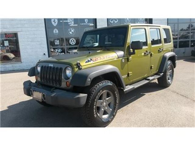 2010 JEEP WRANGLER Unlimited Sport Mountain Pkg in Guelph, Ontario