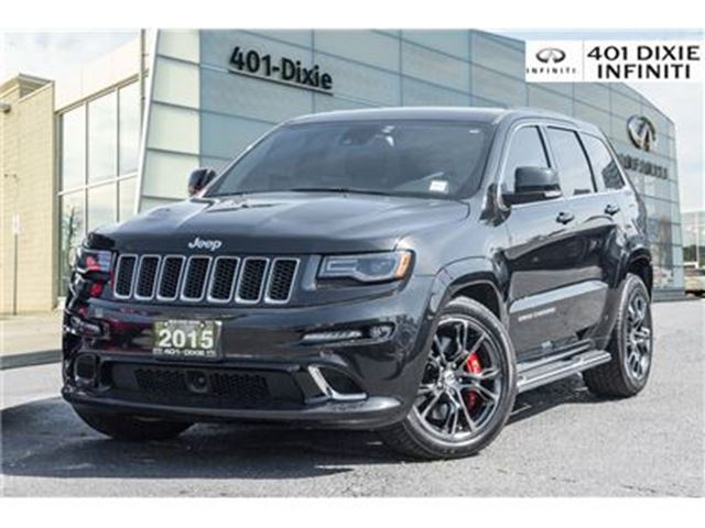 2015 JEEP GRAND CHEROKEE 4WD, Launch Control! 20 Chrome! in Mississauga, Ontario