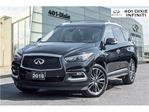 2016 Infiniti QX60 AWD, Technology Pkg! Intelligent Cruise! DVD! in Mississauga, Ontario