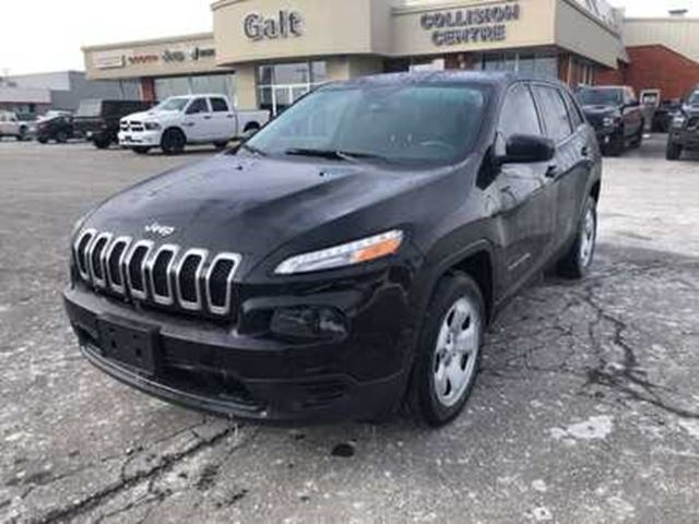 2017 JEEP CHEROKEE SPORT DEMO   BLUEOOTH 5.0TOUCH TIRE SENSOR in Cambridge, Ontario