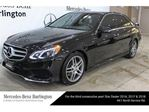 2016 Mercedes-Benz E250 Bluetec 4matic Sedan in Burlington, Ontario