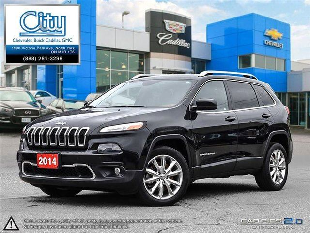 2014 Jeep Cherokee Limited in Toronto, Ontario