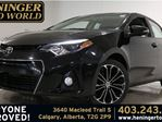 2014 Toyota Corolla S - Tech Package *Navigation *Sunroof in Calgary, Alberta