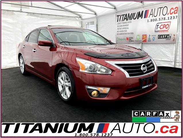 2013 Nissan Altima 2.5 SV+Camera+Sunroof+Remote Starter+Fog Lights+XM in London, Ontario