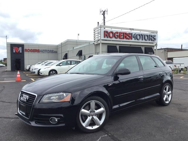 2013 AUDI A3 2.0T QTRO S-LINE - LEATHER - PANORAMIC ROOF in Oakville, Ontario