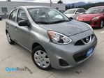 2015 Nissan Micra S M/T Local One Owner AUX CD Player FM AM Radio in Port Moody, British Columbia
