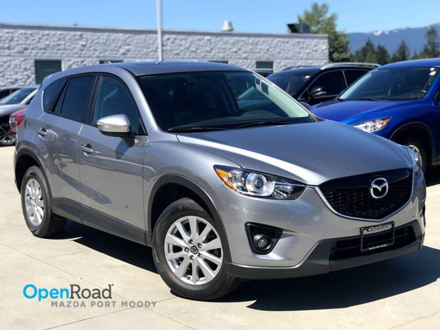 2015 MAZDA CX-5 GS FWD A/T Local One Owner Bluetooth AUX Sunroo in Port Moody, British Columbia