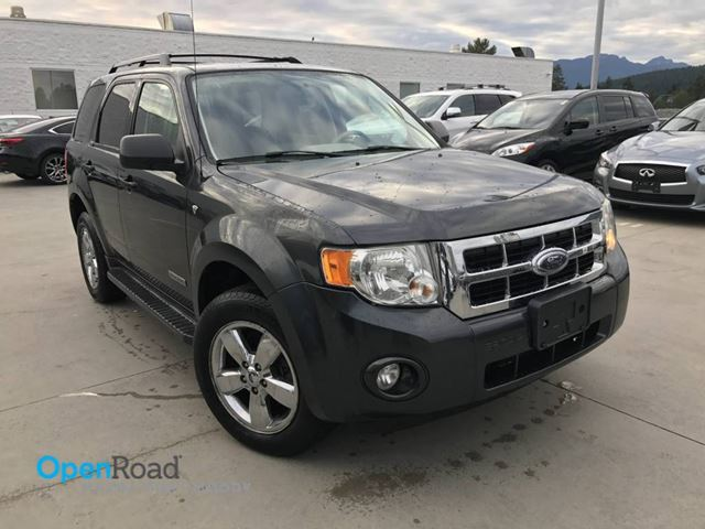 2008 FORD ESCAPE XLT A/T FWD V6 No Accident Local Leather Sunroo in Port Moody, British Columbia